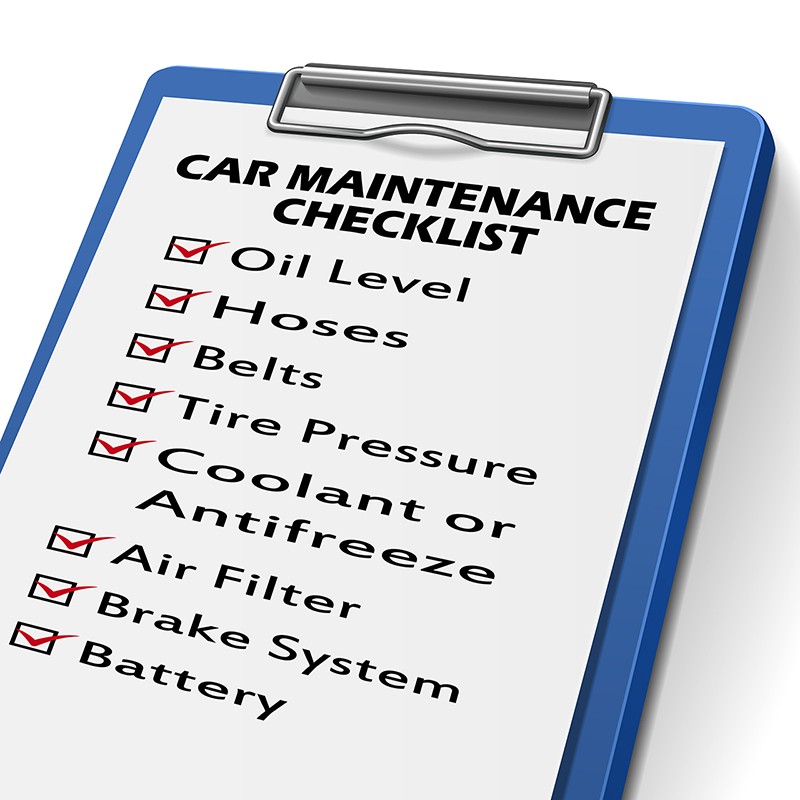 car care checklist